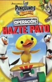 Ver Los Pinguinos de Madagascar: Operacion Hazte Pato (2012) Online