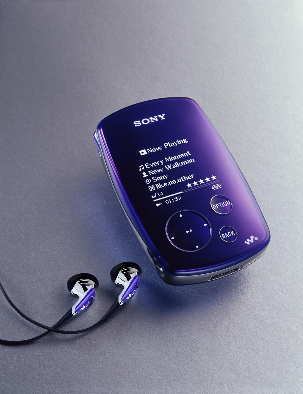 Mp3: Multimedia Software Sony Walkman NW-S200, Mp3 Player