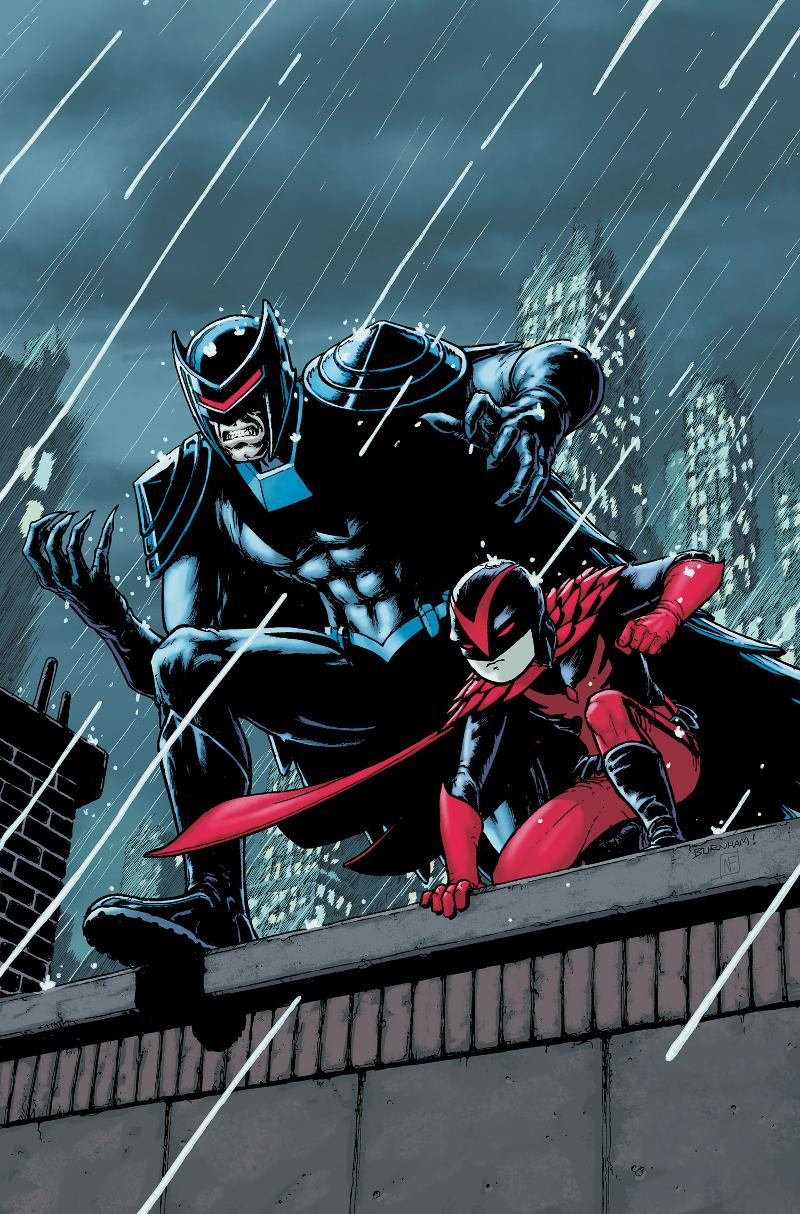 Red Hood and Scarlet