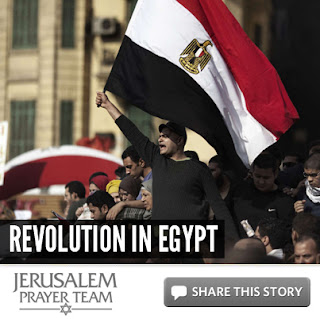 Revolution in Egypt - Mike Evans - Jerusalem Prayer Team