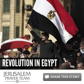 Revolution in Egypt - Mike Evans - Jerusalem Prayer Team