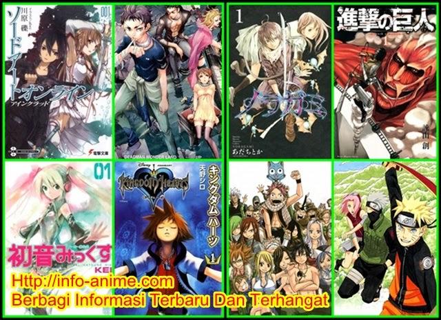 Inilah Top 10 Manga Dengan Penjualan Terbaik Di New York Amerika