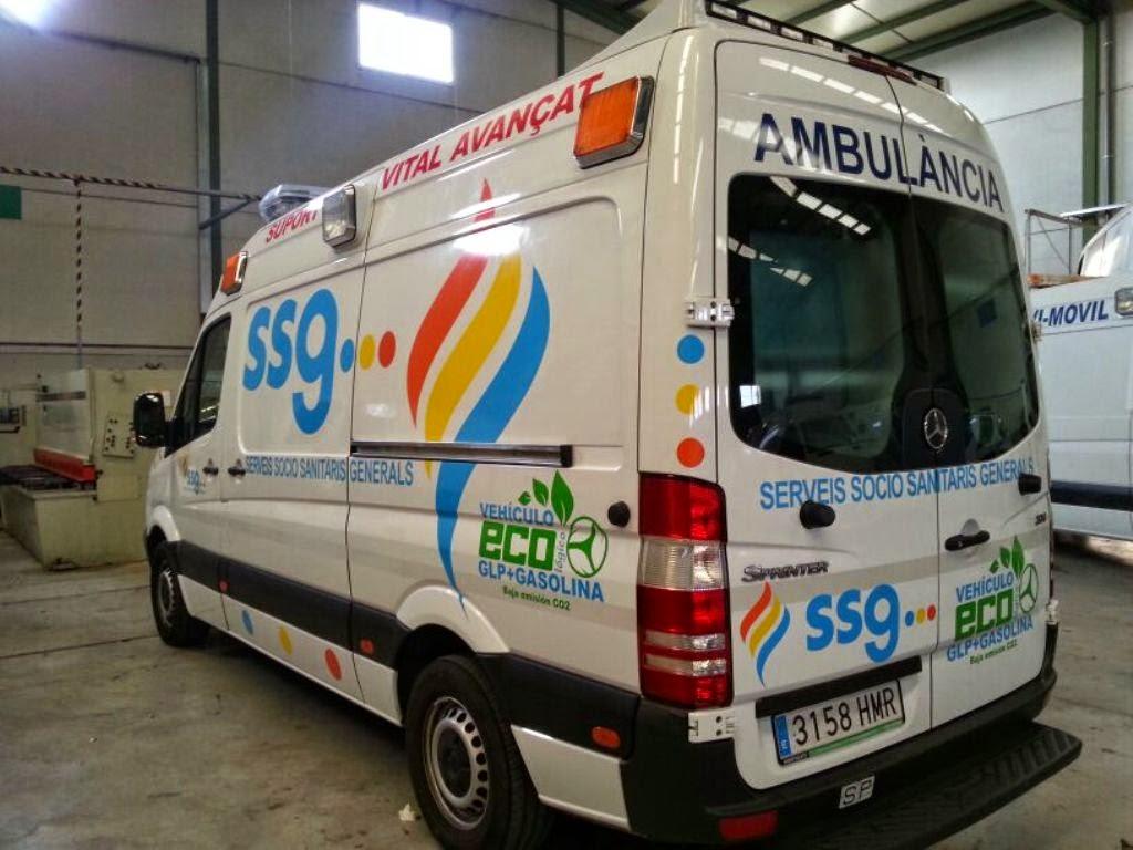 Ambulancias SSG se queda con el transporte sanitario de Granada
