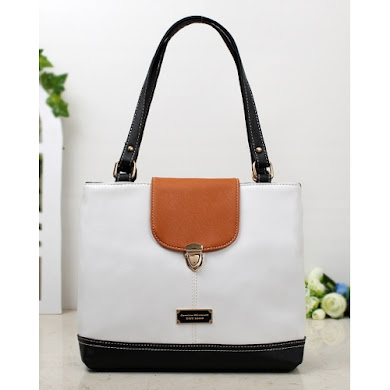 JESSICA MINKOFF BAG (WHITE)