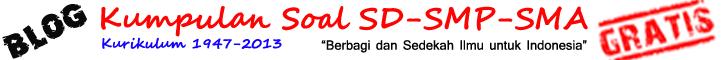 Kumpulan Contoh Bank Soal Bahasa Inggris SD-SMP-SMA Terbaru