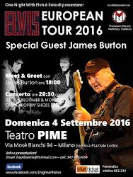 ELVIS EUROPEAN TOUR 2016