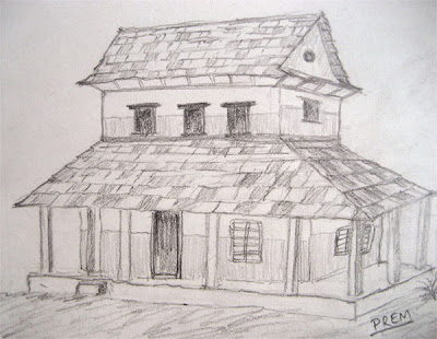 Drawing of Ordinary Hilly House
