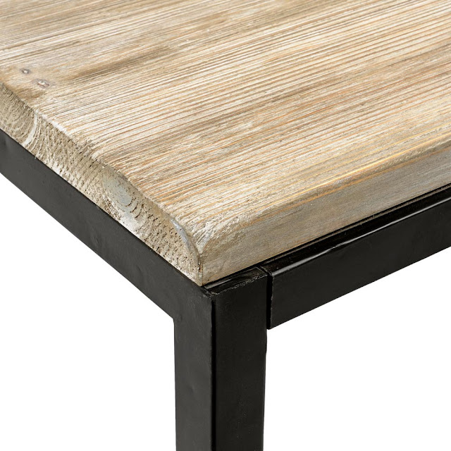 Seaseight design blog design raw wood table for Tavolo legno maison du monde