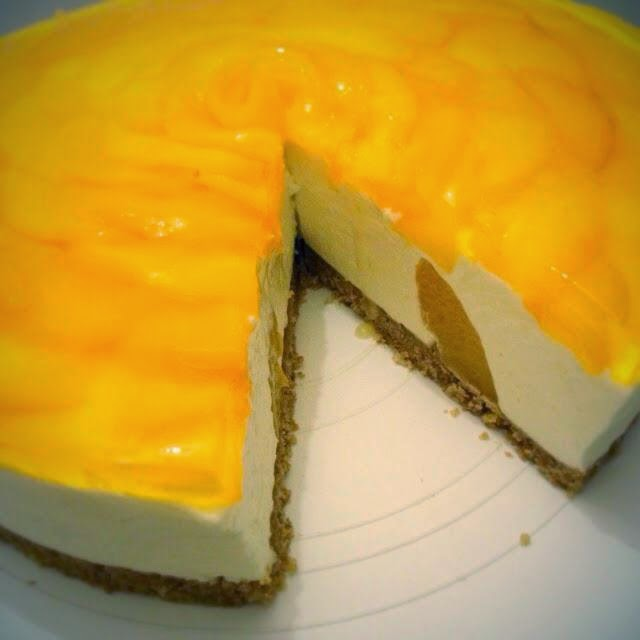 Mandy's baking journey: Peach cheesecake (non bake)