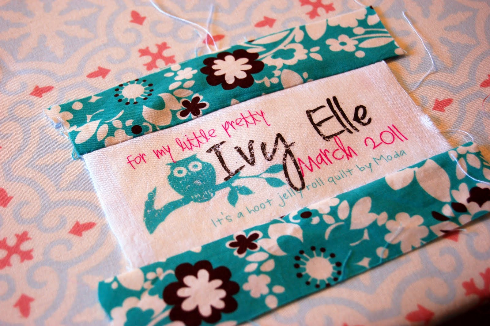 DIY Quilt Labels - iCandy handmade : personalized quilting tags - Adamdwight.com