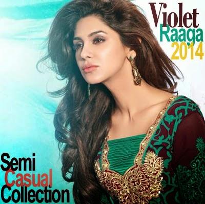 Indian Semi Casual Dresses 2014 by Raaga