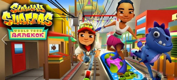 Subway Surfers Bangkok 1.31.0 MOD APK (Unlimited Coin_Key)