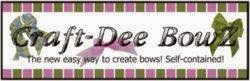 Craft-Dee BowZ Guest Design Team Member
