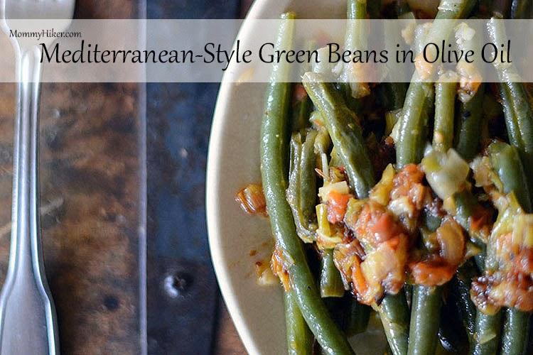 Green Beans in Olive Oil (Zeytinyağlı Taze Fasulye)