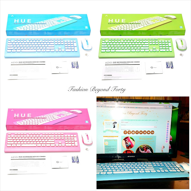 Total Cuteness! Azio Hue Wireless Keyboard/Mouse