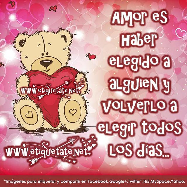 Feliz San Valentín Imagenes Con Frases Bonitas De Amor. FOTOS DE AMOR CON  FRASES ...