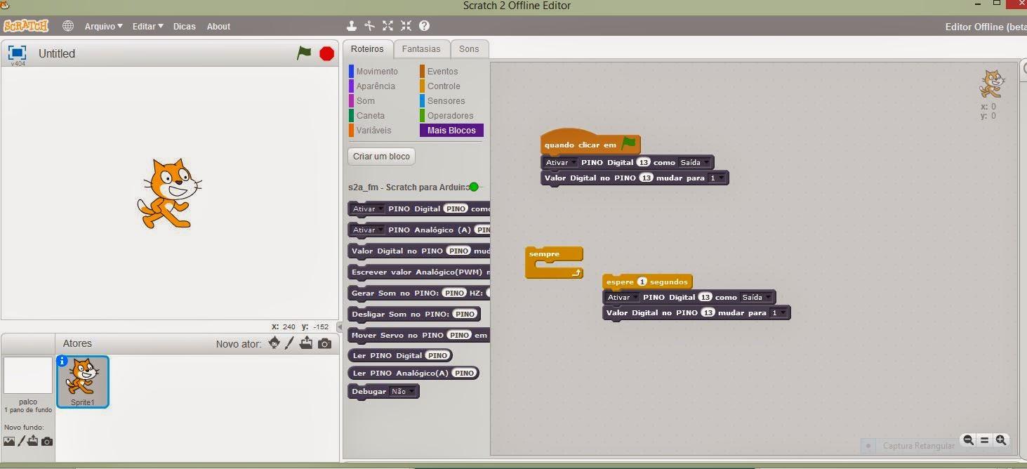 Labduino arduino aplicado ao ensino de ciências scratch