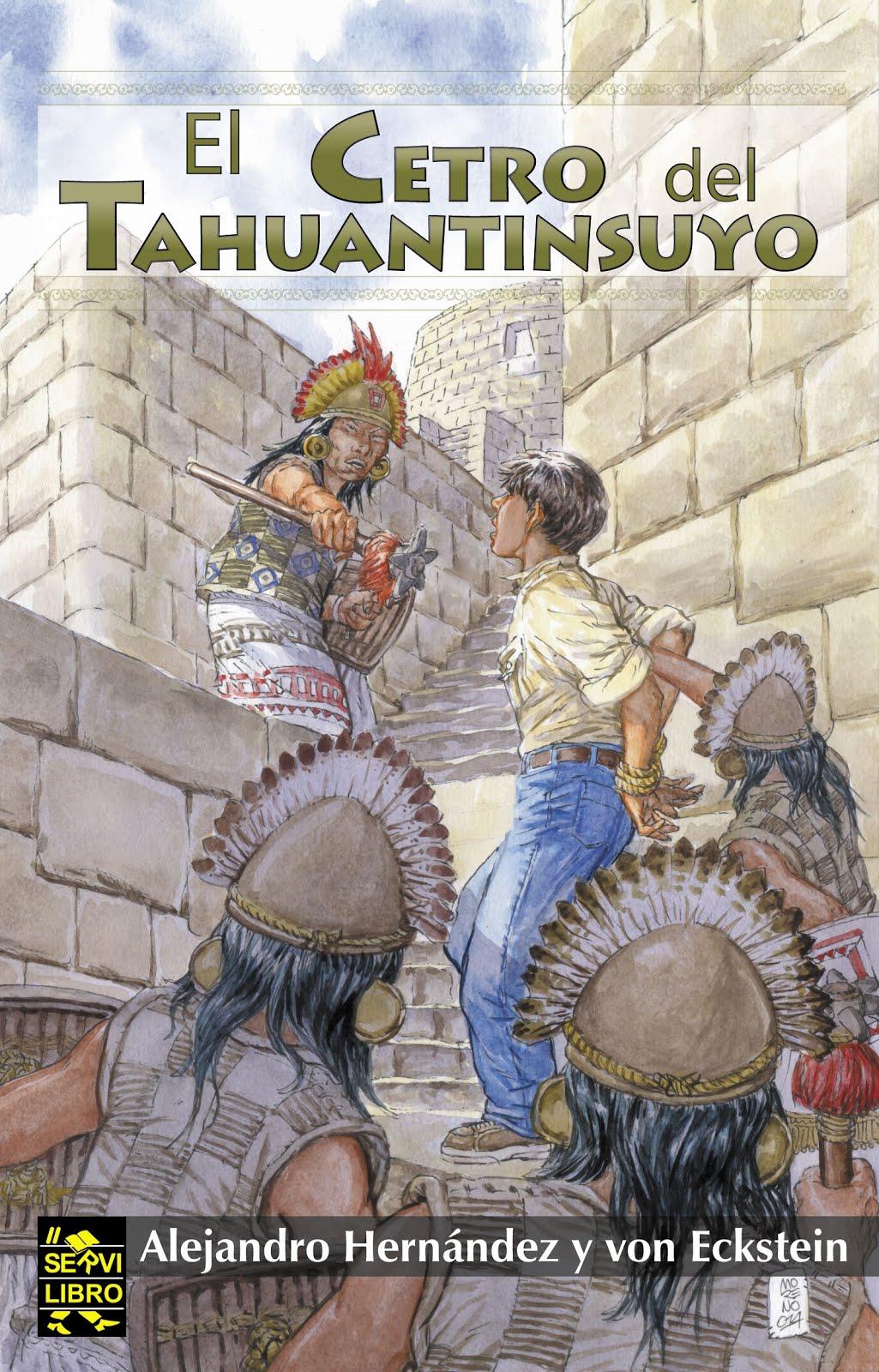 "Novela:""El cetro del Tahuantinsuyo"""