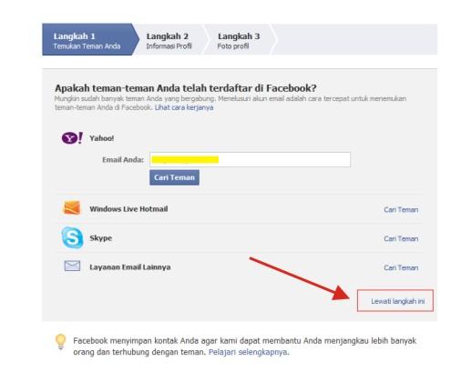 Cara Membuat Akun Fb Indonesia