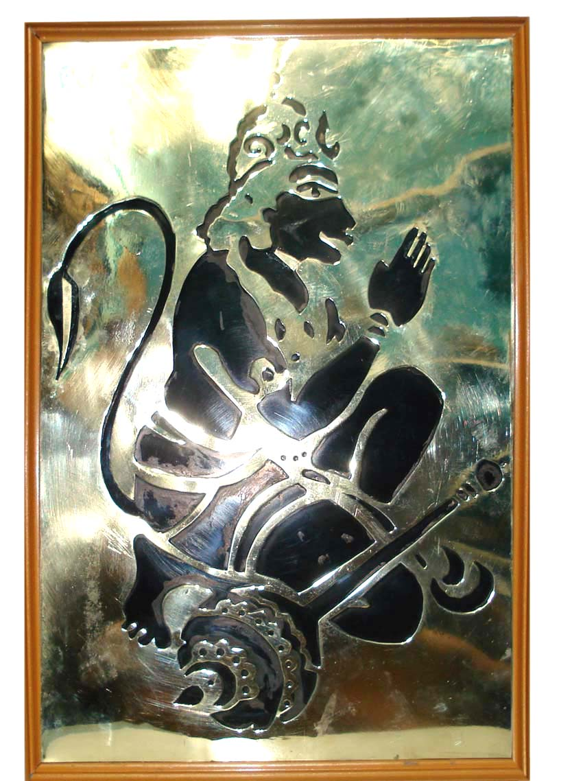 Lord Hanuman pictures and statues in black color