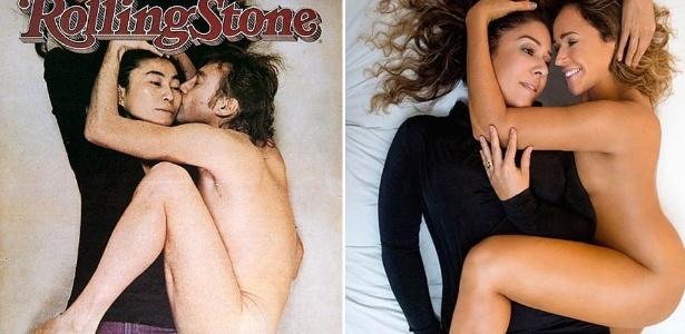 Daniela Mercury diz que foi difícil reproduzir foto de John Lennon em entrevista