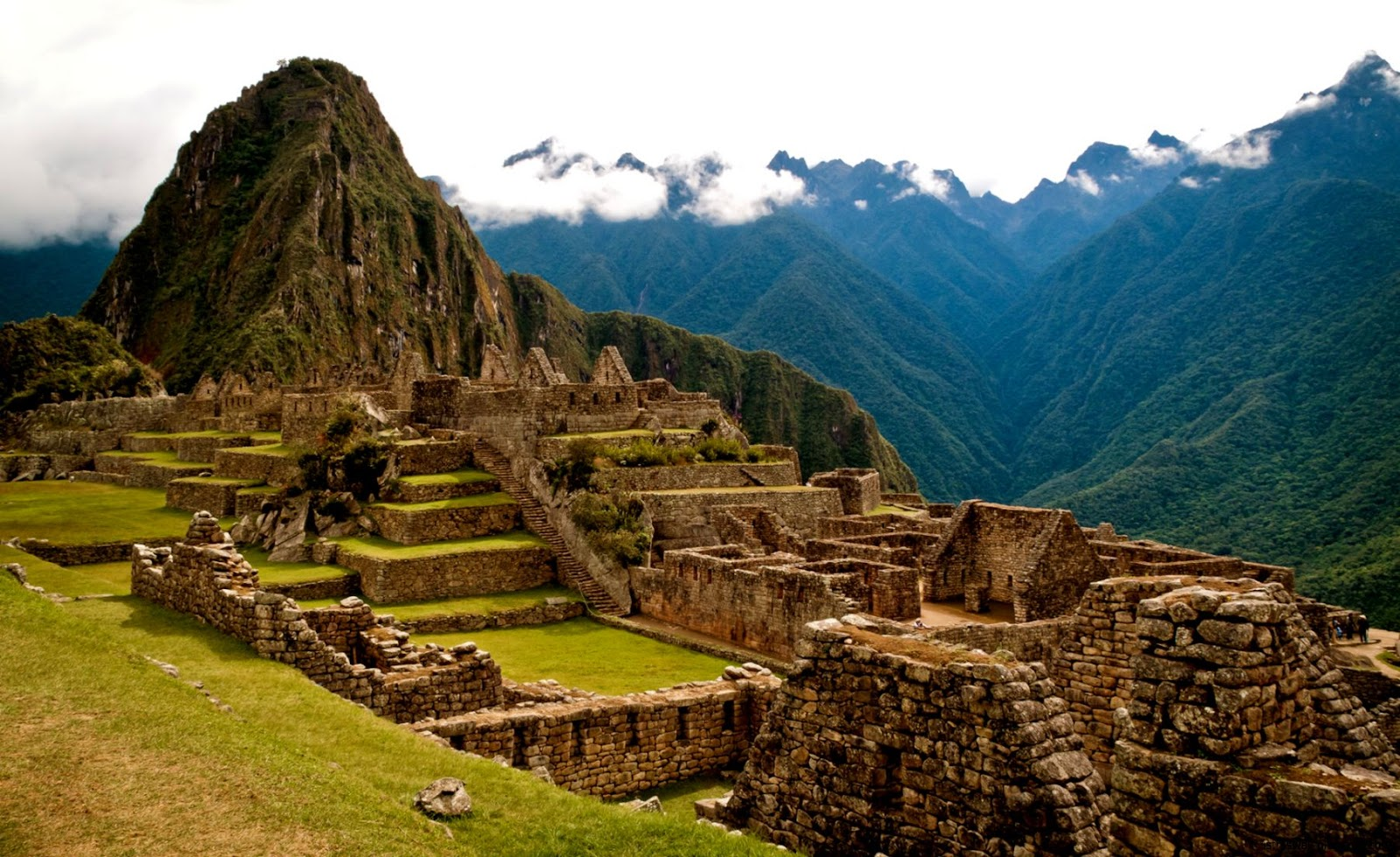 Peru Mountains Machu Picchu