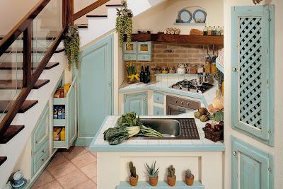 Boiserie c cucine 25 soluzioni per piccoli spazi ma - Cucine ikea country ...