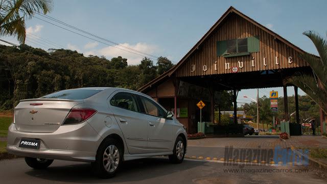 Lançamento oficial em Joinville - Novo Onix sedan 2013