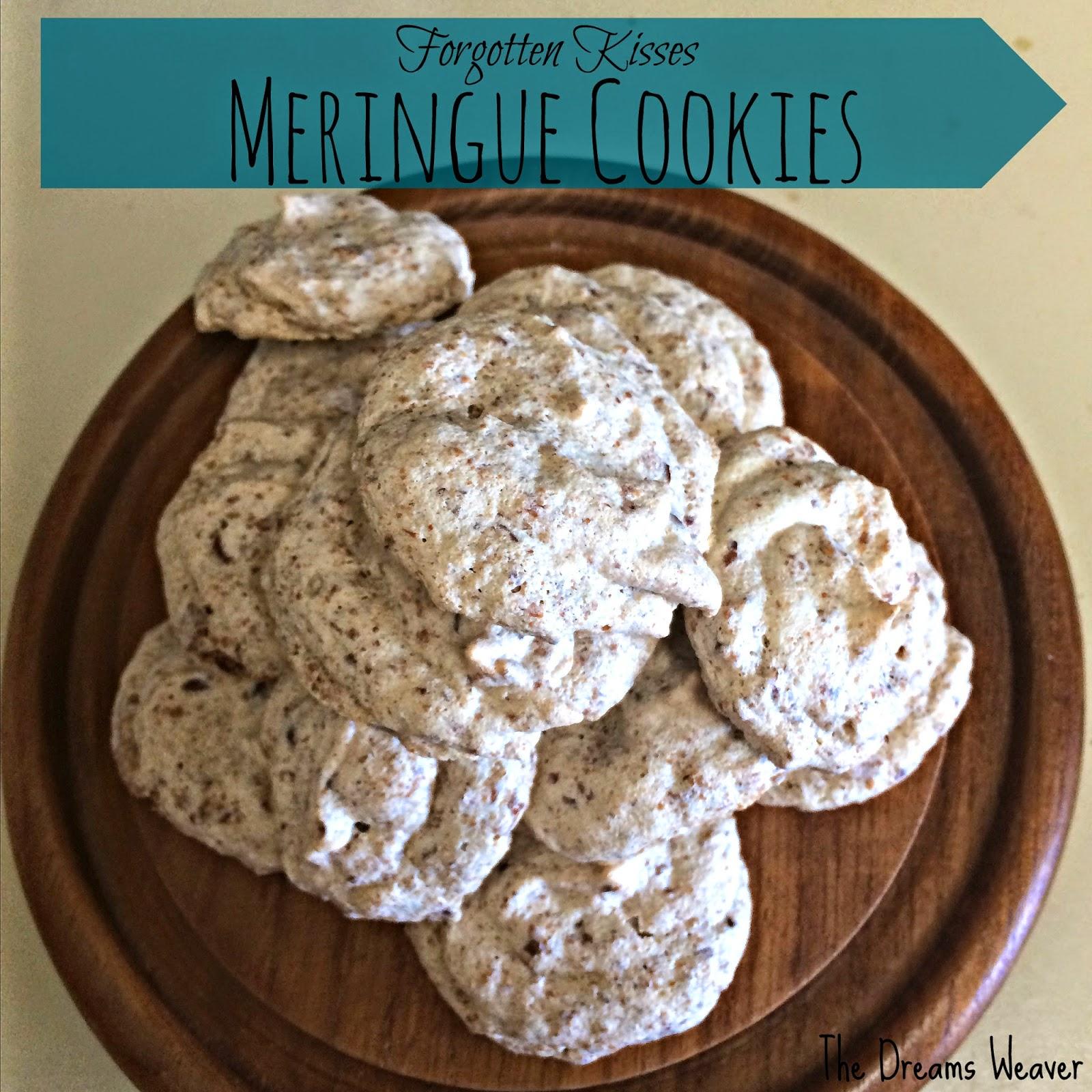 Forgotten Kisses Meringue Cookies~ The Dreams Weaver