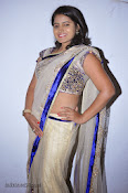 Actress Tanusha Photos in Saree at Present Love Audio-thumbnail-7