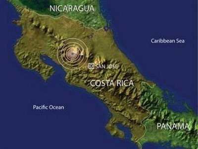 Temblor on Terremoto Sacude Costa Rica   Noticias Del Uruguay