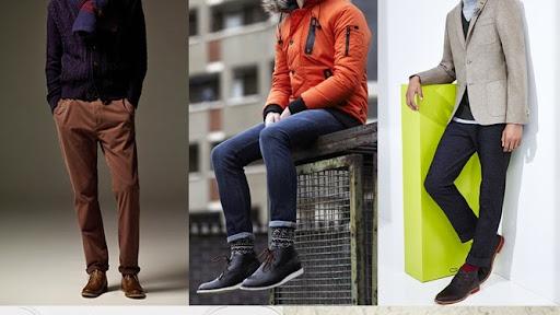 Sepatu Boot untuk Pria desain Casual dan Santai Terbaru 2015