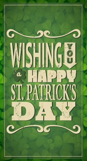 Happy St. Patrick's Day from Campaigner Email Marketing!