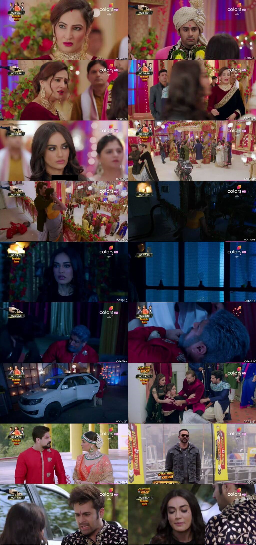 Screenshots Of Hindi Show Naagin Season 3 2019 Episode 61 300MB 480P HD