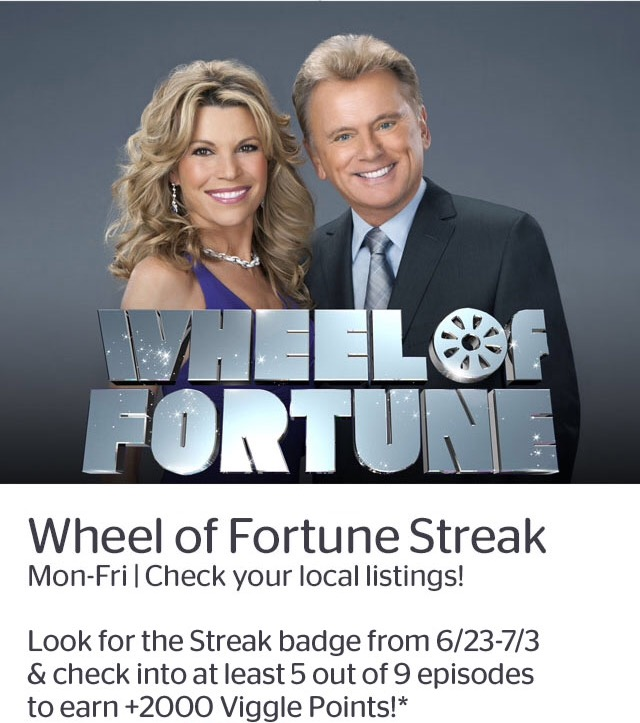 Wheel of Fortune Streak
