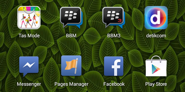 2 BBM di Android