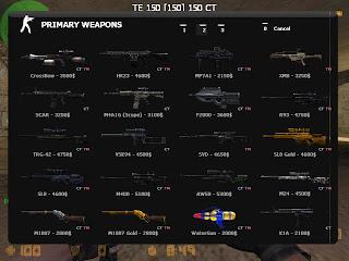 Cara membuka semua senjata Counter Strike Extreme v5 2011