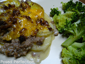Hamburger Potato Casserole - better than the box kind.