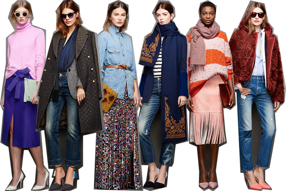 J Crew Fall 2015 Styling Tips The Fashion Barbie