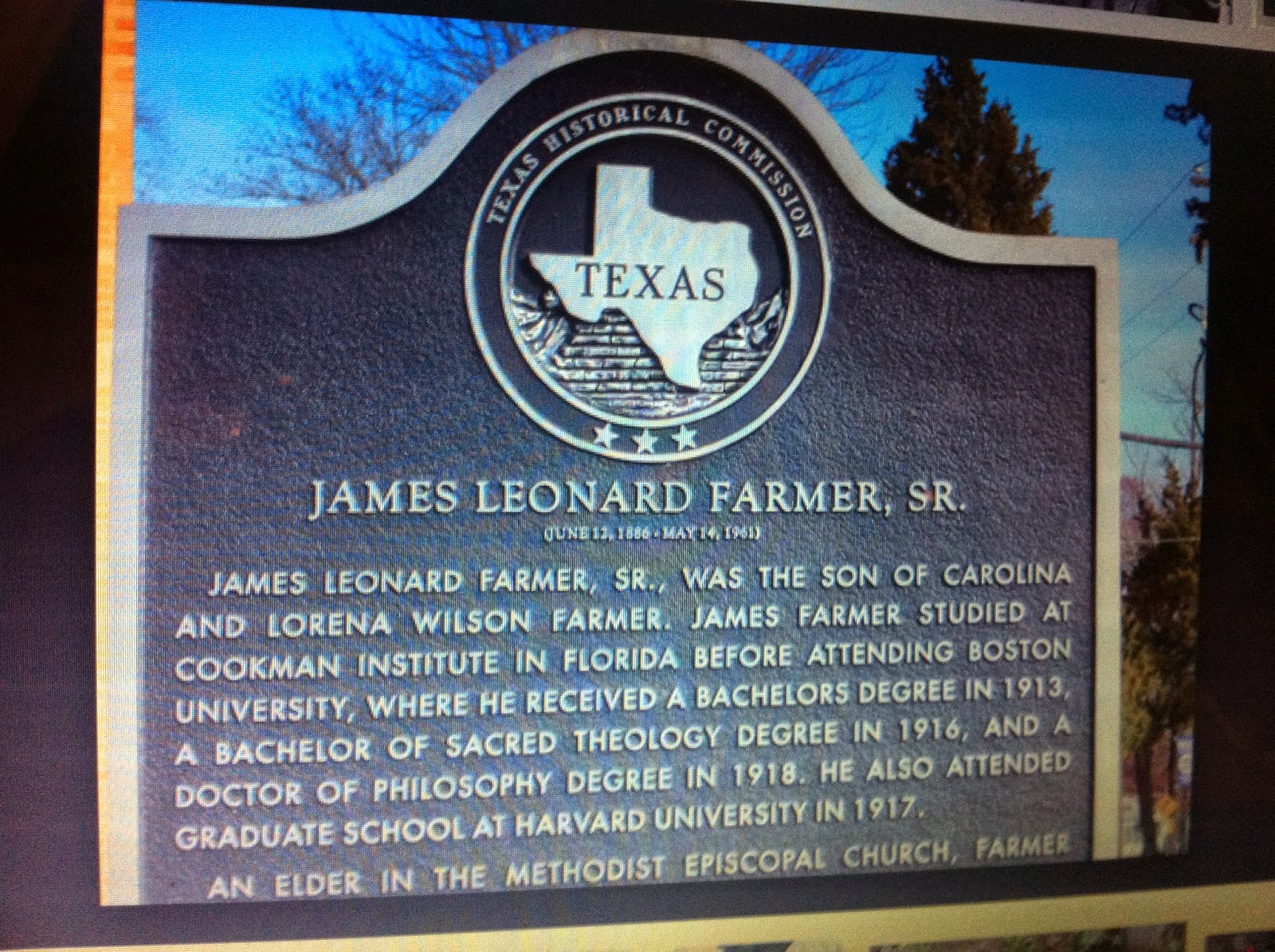 education and james farmer sr James l farmer jr was born in early life and education james leonard farmer was the son of farm workers and former slaves from kingstree, south parliament james farmer (industrialist) (1823-1892), british industrialist and mayor of the county borough of salford james l farmer, sr.