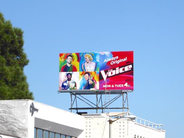 Voice season 9 billboard