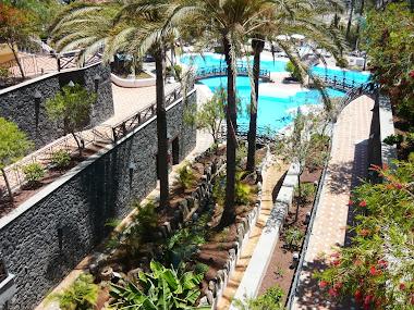gradinile hotelului Melia, Tenerife