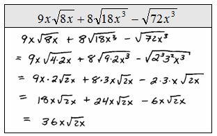 how to add radicals expressions