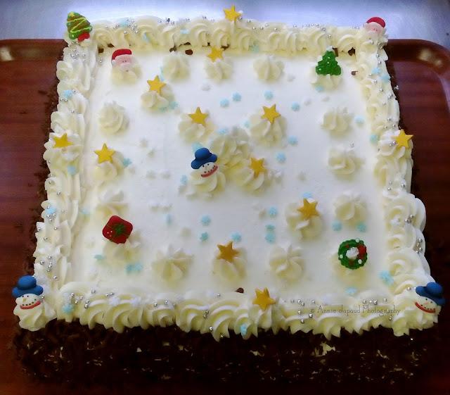 Christmas Buttercream cakes
