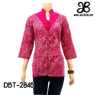 Blouse Batik Wanita DBT-2846