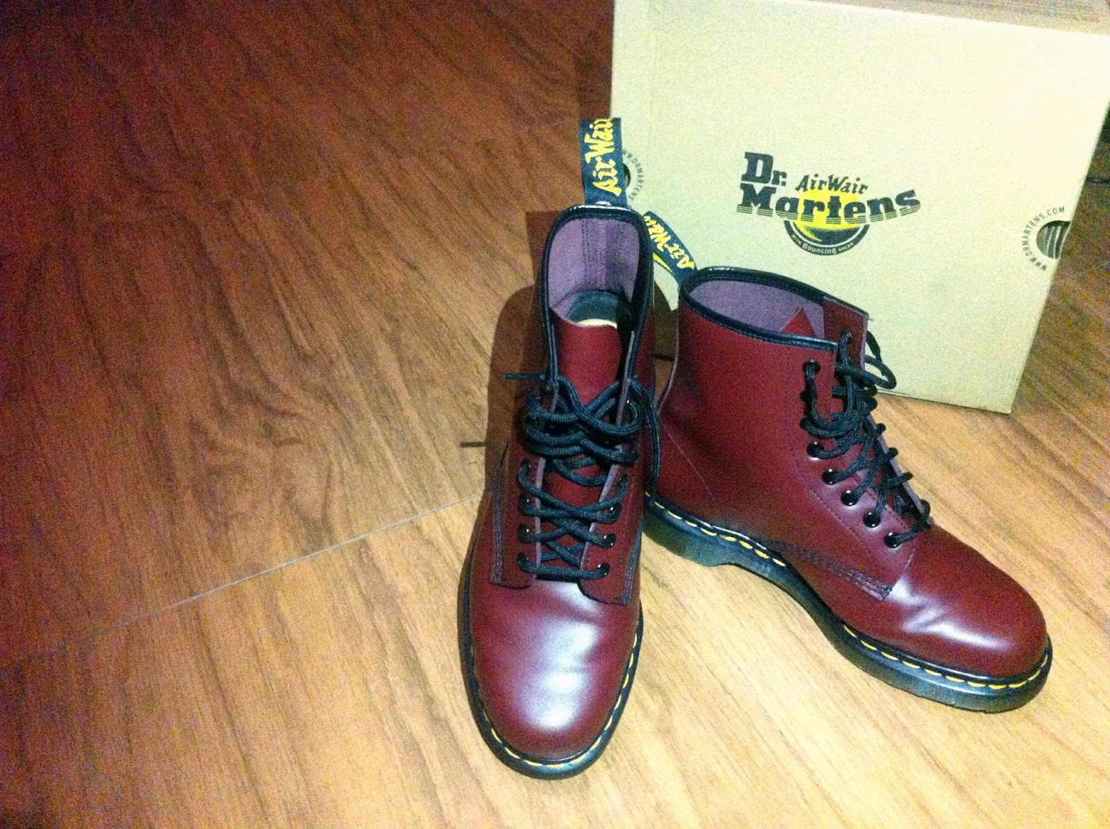 Sepatu Boots Docmart Kece