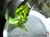 Mistela - Agregando el alcohol al amíbar