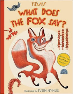 http://www.amazon.com/What-Does-Fox-Say-Ylvis/dp/1481422235/ref=sr_1_1?s=books&ie=UTF8&qid=1387306010&sr=1-1&keywords=what+does+the+fox+say