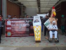 MANIFESTAÇÃO DE 28 DE ABRIL DE 2011.