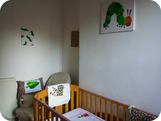 Children's bedroom themes, The very hungry caterpillar, hungry caterpillar nursery